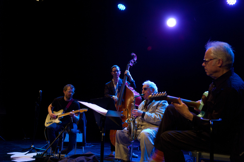 Jakob Bro, Thomas Morgan, Lee Konitz and Bill Frisell